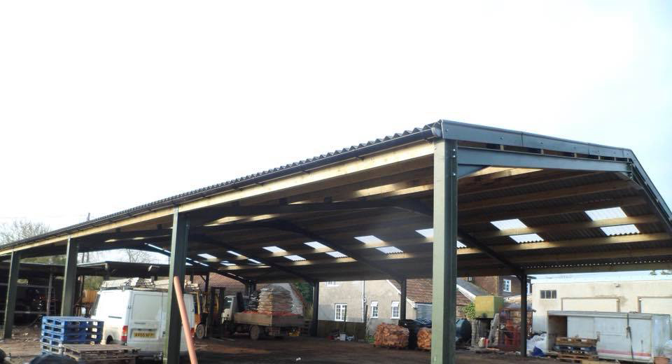 Steel Frame Building Erection Henley | SHP Construction Ground Works ...