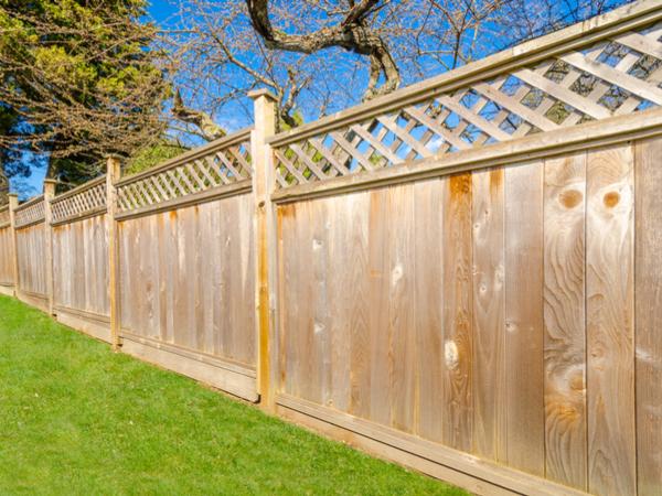 fencing in garden