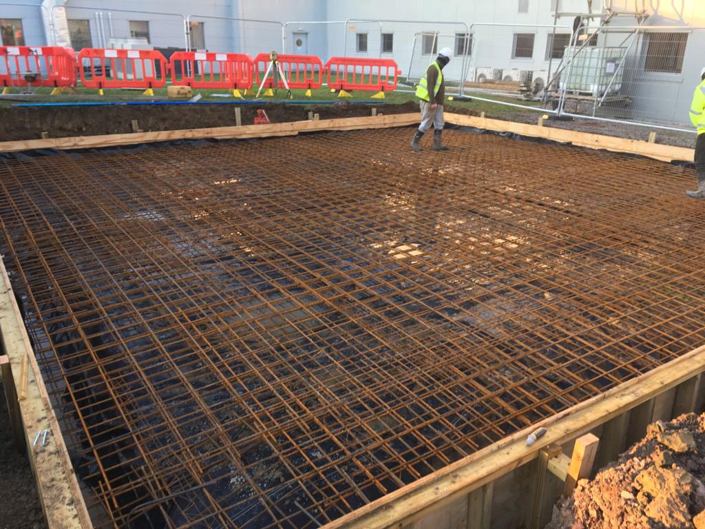 concrete slab castle cary
